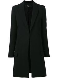 Versus Oversized Coat Black