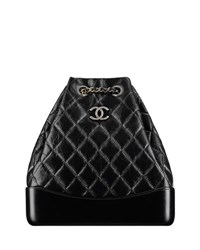 Chanel's Gabrielle Backpack Black