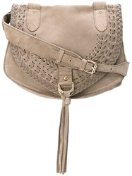See By Chloe Medium 'Collins' Tote Bag Women Suede One Size Brown