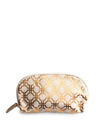 Rosanna Jet Setter Cosmetic Pouch Gold