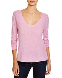 Joie Luscinia Cashmere V Neck Sweater Light Tulip