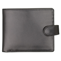 Launer Leather Tab Wallet