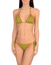 Maison Scotch Bikinis Military Green