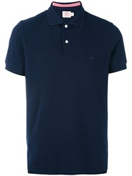 Brooks Brothers Classic Polo Shirt Men Cotton Xl Blue