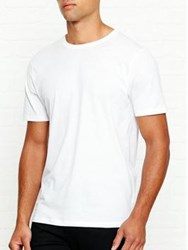 Reiss Bless Crew Neck T Shirt White
