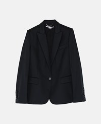 Stella Mccartney Black Iris Taioring Jacket