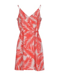 Juicy Couture Short Dresses Red