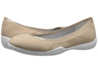 Tahari Nina Nude Matte Snake Print Women's Flat Shoes Brown