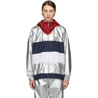Polo Ralph Lauren Silver Logo Windbreaker Jacket