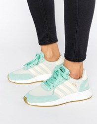 Adidas Originals Mint Green Iniki Trainers Easy Green S17