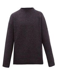Hope Compose Slubbed Alpaca Blend Sweater Black