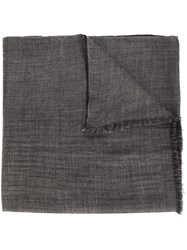Denis Colomb 'Reversible Toosh Shawlstole' Scarf Grey