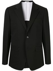 Ck Calvin Klein Notched Lapel Blazer Jacket 60