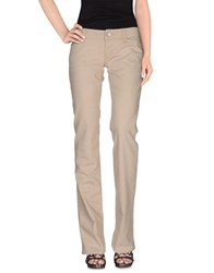 Two Women In The World Denim Denim Trousers Women Beige