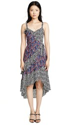 Parker Kathy Combo Dress Multi Ditsy
