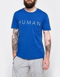 Quality Peoples Human Pocket T Shirt Mazzy Blue