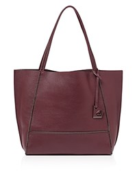 Botkier Soho Heavy Grain Pebbled Leather Tote Cabernet