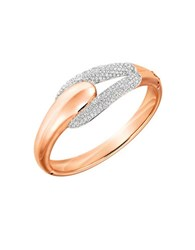 Swarovski Every Pave Bangle Bracelet Rose Gold