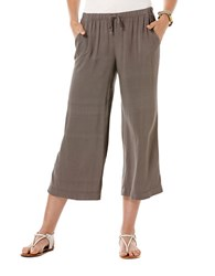 Candc California Challis Culotte Pants Faded Black