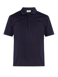 Everest Isles Cotton Pique Polo Shirt Dark Blue