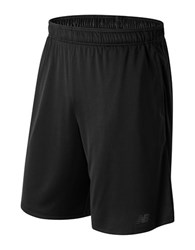 New Balance Versa Drawcord Shorts Black