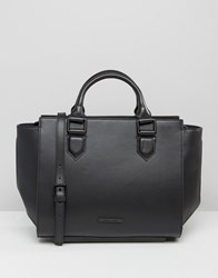Kendall Kylie Brook Structured Tote Bag Black