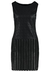 Smash Follet Shift Dress Black