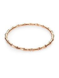 Gucci Bamboo 18K Rose Gold Thin Bracelet