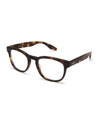 Barton Perreira Byron Universal Fit Square Optical Frames Chestnut