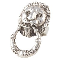 Reagan Charleston Leone Cocktail Ring Sterling Silver