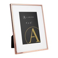 Amara Copper Plated Steel Photo Frame 4X6