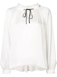 Zadig And Voltaire Theresa Tunic White