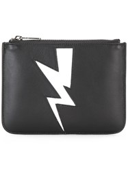 Neil Barrett Coin Pouch Black