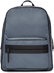 Maison Martin Margiela Blue Nylon Backpack