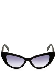 Italia Independent I Plastik 0906 Velvet Cat Eye Sunglasses