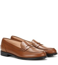 Tod's Gommini City Loafers Brown