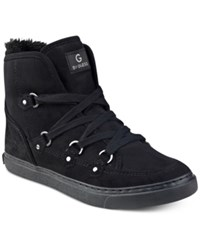 G By Guess Otter Lace Up Hiker Sneakers Women's Shoes Black