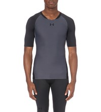 Under Armour Clutch Fit Jersey T Shirt Stealth Gray