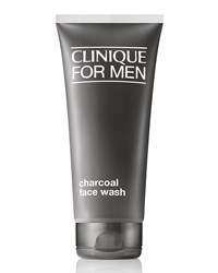 Clinique For Men Charcoal Face Wash 6.7 Oz. Grey
