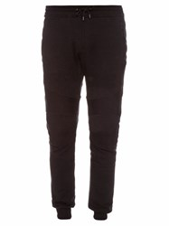 Belstaff New Ashdown Cotton Track Pants Black