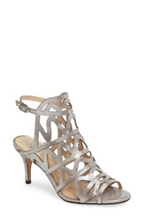 Vince Camuto Women's Prisintha Sandal Pewter Suede