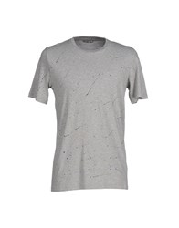 M.Grifoni Denim Topwear T Shirts Men Grey