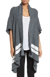 Nordstrom Women's Lingerie Plush Cardigan Grey Pavement