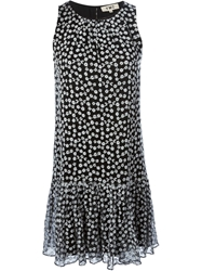 Ymc Embroidered Flared Dress