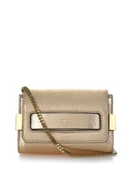 Chloe Elle Mini Leather Clutch