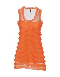 Liviana Conti Topwear Tops Women Orange