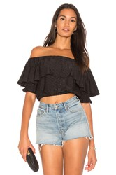 De Lacy Parker Top Black