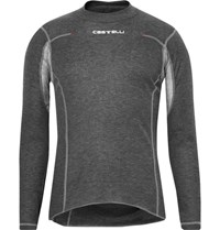 Castelli Catelli Flander Warm Meh Trimmed Ottozero Top Anthracite