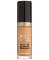 Too Faced Born This Way Super Coverage Multi Use Sculpting Concealer Warm Sand Tan With Golden Undertones