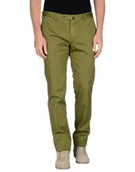 Pt01 Trousers Casual Trousers Men Military Green
